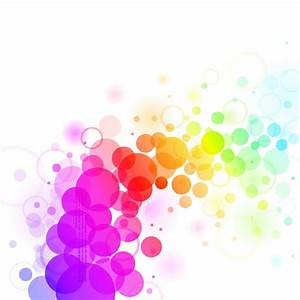 Abstract Colorful Dots Backgrond Vector Graphic | Free ...
