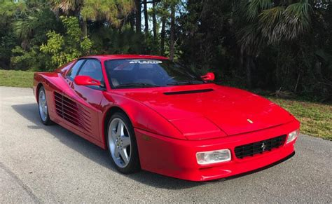 Enjoy the ultimate luxury of ferrari cars and other exotic cars available ferrari cars for rental in south beach , miami #rentals #rentme #crazycar #cars. Ferrari 1994 512TR red florida atlantis motor group 1   Dirty Old Cars