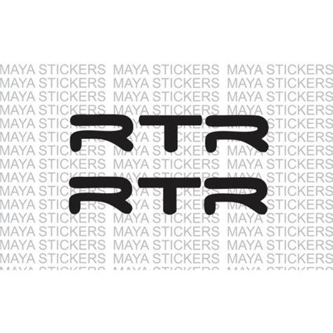 cheap wall decals tvs apache rtr logo stickers decals