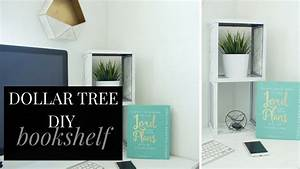 DOLLAR TREE DIY Bookshelf Best DIY Bookshelf under $20