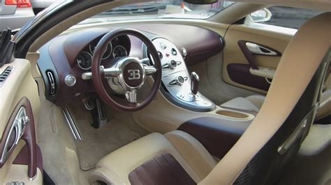 sitting   bugatti veyron interior  detail