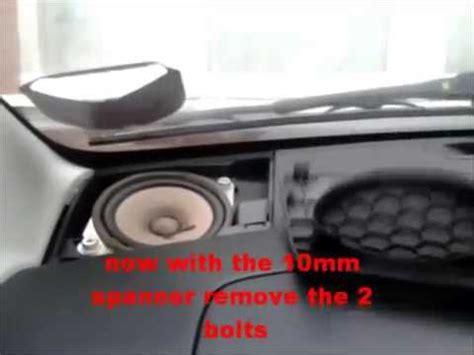 remove  speakers   citroen  toyota aygo