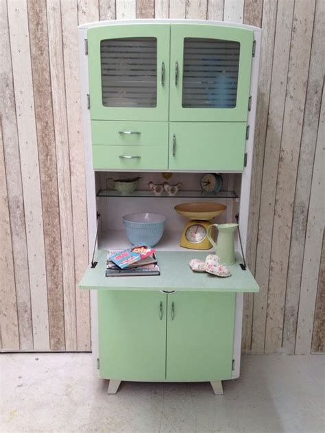 vintage retro kitchen cabinet cupboard larder kitchenette