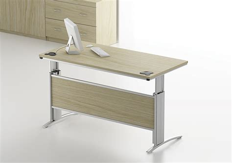 Office Desk Height by Trestle Height Adjustable Office Desk Tag Office