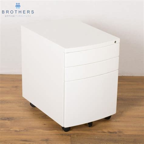 white pedestal desk with drawers new white 3 drawer under desk pedestal