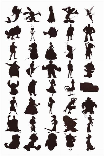 Disney Characters Silhouettes Silhouette Identify Quiz Cruise