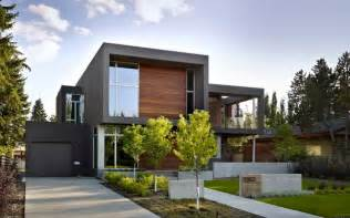 sd house modern exterior edmonton by thirdstone