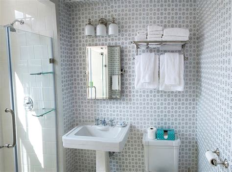 china seas cecil wallpaper transitional bathroom