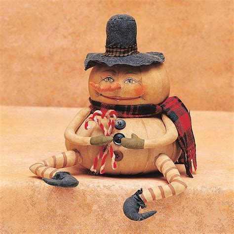 gathered traditions  joe spencer ernie pumpkin figurine