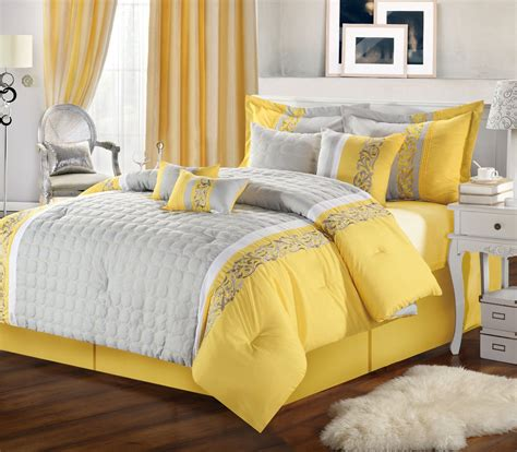Gray And Yellow Bedroom Ideas by Gray And Yellow Bedroom With Calm Nuance Traba Homes