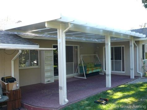 solid flat patio covers sacramento patio covers
