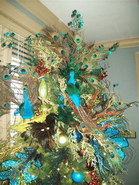 peacock christmas tree everything peacock