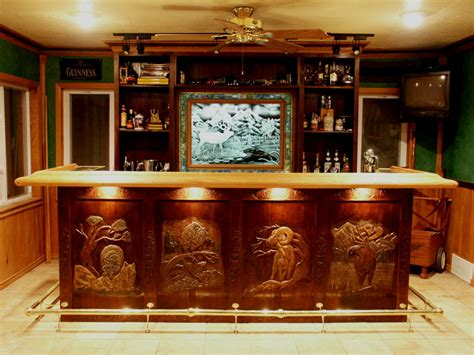Custom Built Home Bars by Artisans Of The Valley Crafted Residential Bar Units