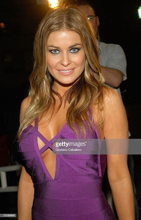 Actress Carmen Electra Arrives To Leather And Laces Pre
