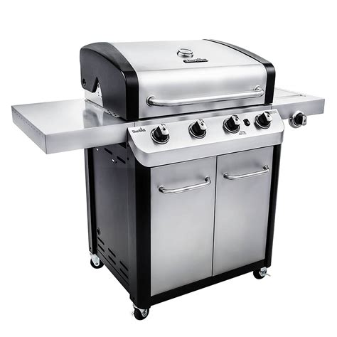 Char Broil Signature 530 4Burner Cabinet Gas Grill The
