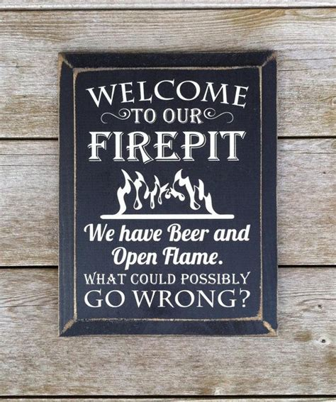 rustic distressed wood    firepit