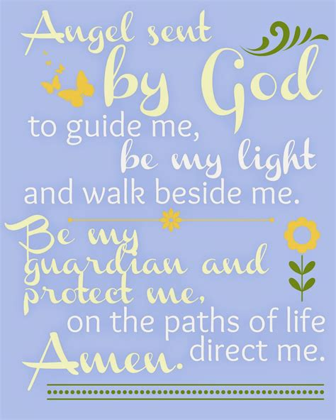 Guardian Prayer by Catholic All Year In Which There Are Seven Free Printable