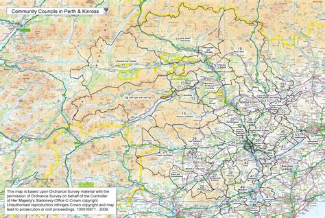 boundary maps convention  perth  kinross community