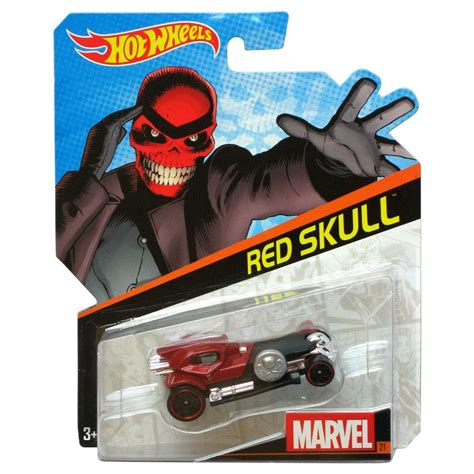 Red Skull  Hot Wheels  Marvel Character  Hot Wheels
