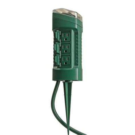 outdoor light with electrical outlet outdoor timers dimmers switches outlets the home