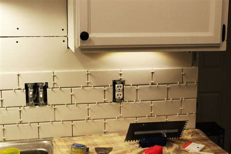 How To Tile A Kitchen Backsplash How To Install A