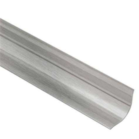schluter eck khk brushed stainless steel 6ft 7in metal tile edging trim 6ft 7in