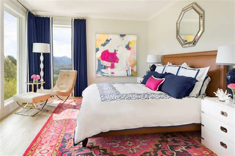 navy master bedroom pink and navy master bedroom ensuite before amp after 12684 | MariaKillmanInc Hasell 340