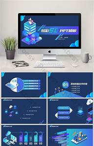 Colorful Fashion 5d Technology Style Ppt Template