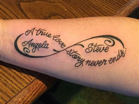 infinity marriage tattoo tattoo ideas marriage tattoos