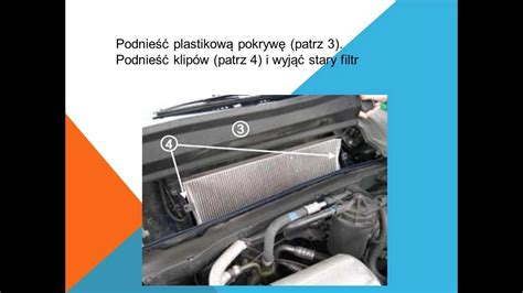 Jak wymienić filtr kabinowy filtr pyłków kurzu na Opel ...