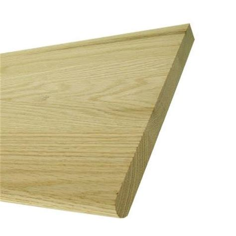oak stair treads home depot 11 1 2 x 48 in red oak stair tread