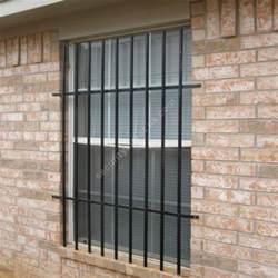 Vertical Window Security Bars