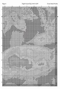 Thread Size Chart Cross Stitch Works Night Forest Fairy 101111239 Free