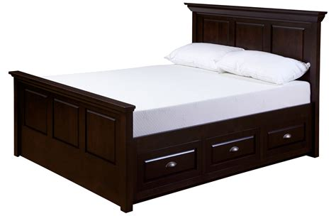 frame bed beds with drawers underneath homesfeed