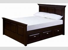 bed drawers 28 images full size natural wood finish