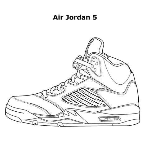 Coloring Jordans by Coloring Pages Coloringsuite
