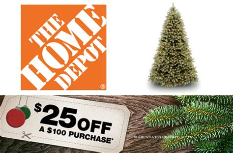 christmas tree coupons home depot home depot tree coupon offer