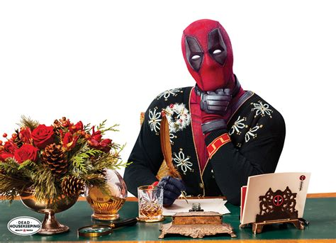 deadpool guest edits good housekeepings special holiday issue