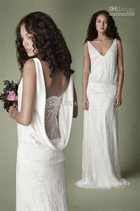 Wholesale 1920s style vintage dresses lace collection for for 1920s style wedding dress