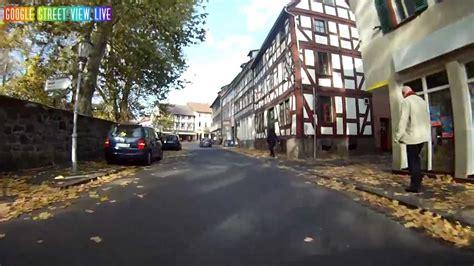 google street view lich hessen germany deutschland youtube