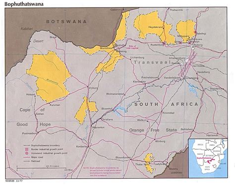 South Africa Maps - Perry-Castañeda Map Collection - UT ...