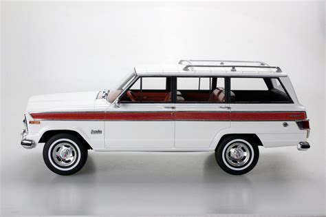 ls collectibles jeep grand wagoneer  white lsc