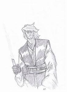 Anakin Skywalker -sketch- by Jacen23 on DeviantArt