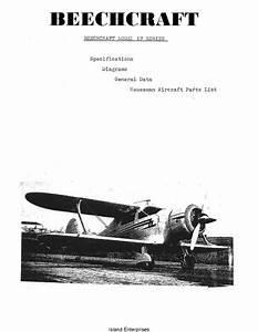 Beechcraft Model 17 Series Specifications  Diagrams  U0026 Houseman Aircraft Parts List
