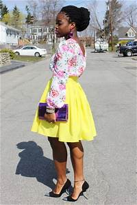 Neon Yellow Selves Made Skirts Floral Asos Tops Cap Toe