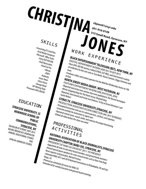 Interesting Resume Templates by Could Be An Interesting Resume For Someone Applying For A