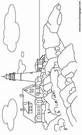 Lighthouse Coloring Pages Maine Light Simple Print Drawing Lighthouses Printable Sheets Coloringtop Benscoloringpages Books Cool Western Getdrawings Olds sketch template