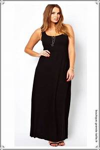 longue robe manche debardeur coupe tee shirt long tombe With robe maxi dress grande taille