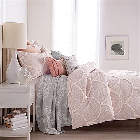 chenille duvet cover peri chenille scallop duvet cover bed bath beyond