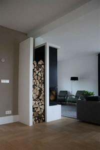 Holz Für Kamin : stauraum ideen im wohnzimmer 30 pfiffige einrichtungen ~ Markanthonyermac.com Haus und Dekorationen